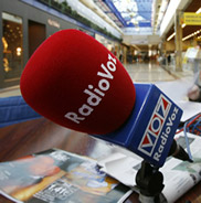 Micrófono de RadioVoz