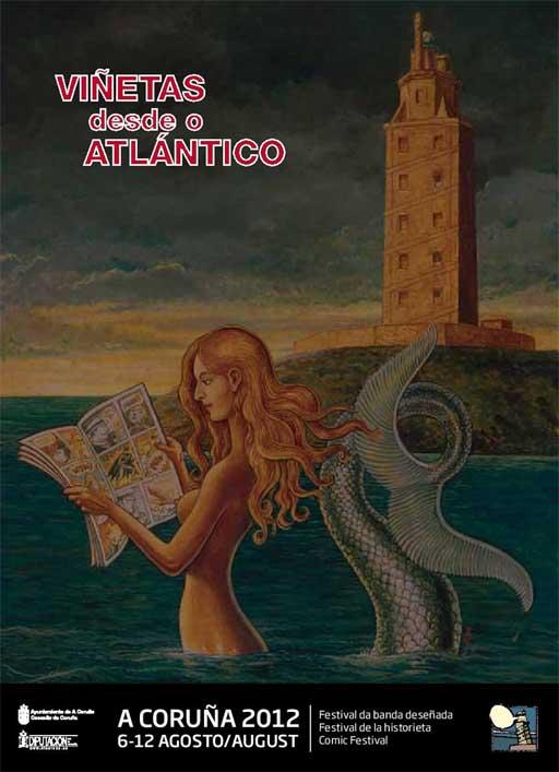 Cartel de Viñetas desde o Atlántico 2012