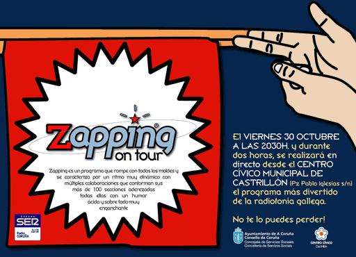 anuncio Zapping On Tour