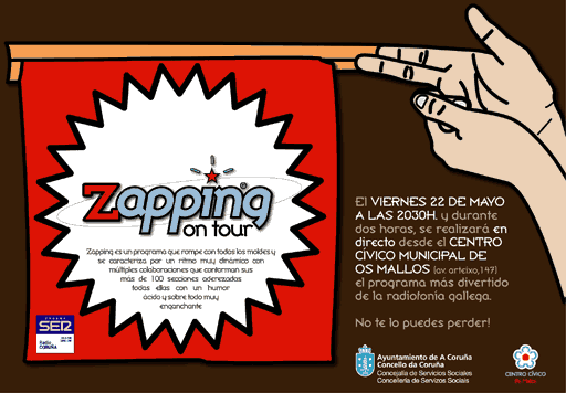 Zapping On Tour nos Mallos