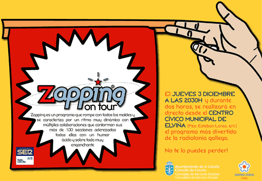 Zapping On Tour