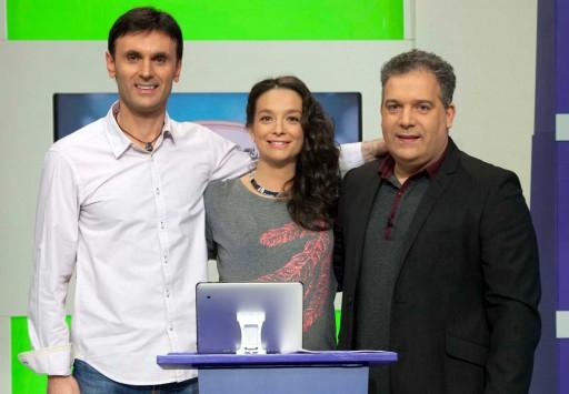 presentadores do programa Verbas Van