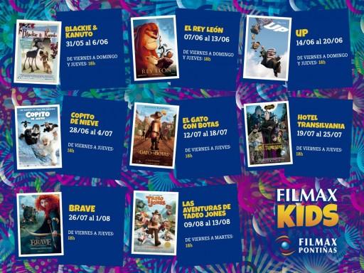 Filmax Kids en Pontiñas