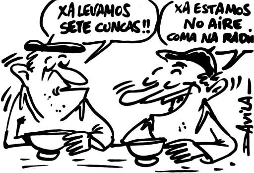 debuxo de Luís Davila