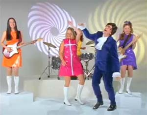 Bill Gates bailando en plan Austin Powers