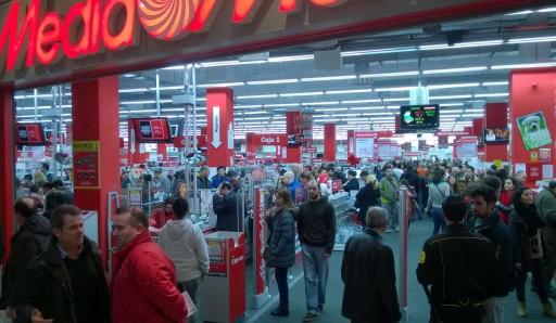 entrada do Media Markt