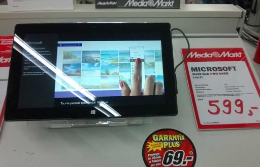 Surface Pro de 64 Gb