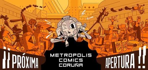 Metropolis Comics Coruña abre o 6 de xuño