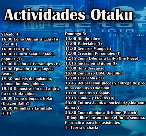 Actividades Otaku