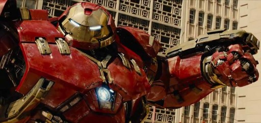 Iron Man co traxe de Hulkbuster