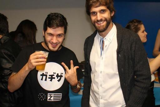 Wismichu con Dani Seijo