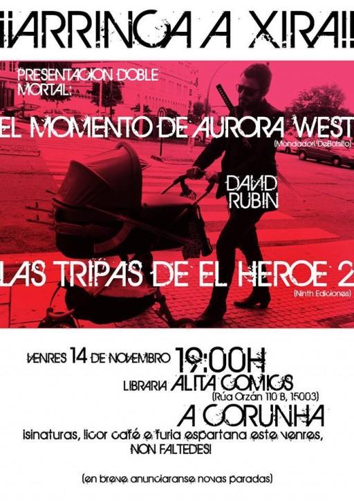 Cartel de Rubín en Alita Comics