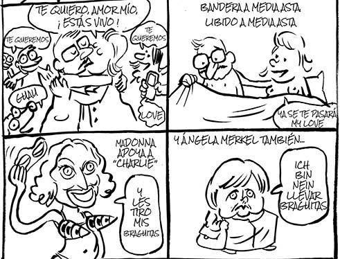 Charlie Hebdo en El País