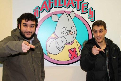 Jorge e Óscar de Porco Bravú