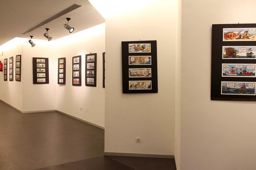 Exposición da obra de Luís Davila na Casa da Cultura de Melide