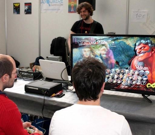 Street Fighter IV musical en ExpOtaku