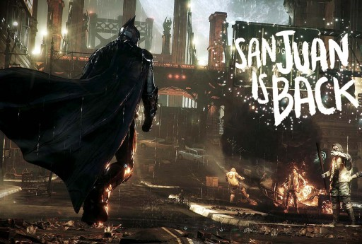 San Juan is back to Gotham