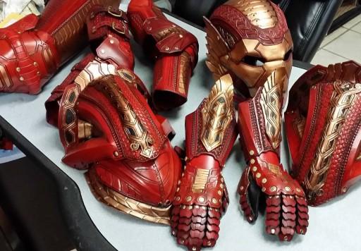 Partes da armadura asgardiana de Iron Man