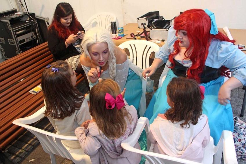 obradoiro de maquillaxe para cativos