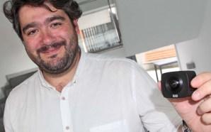 José Alcañiz coa Elecam 360