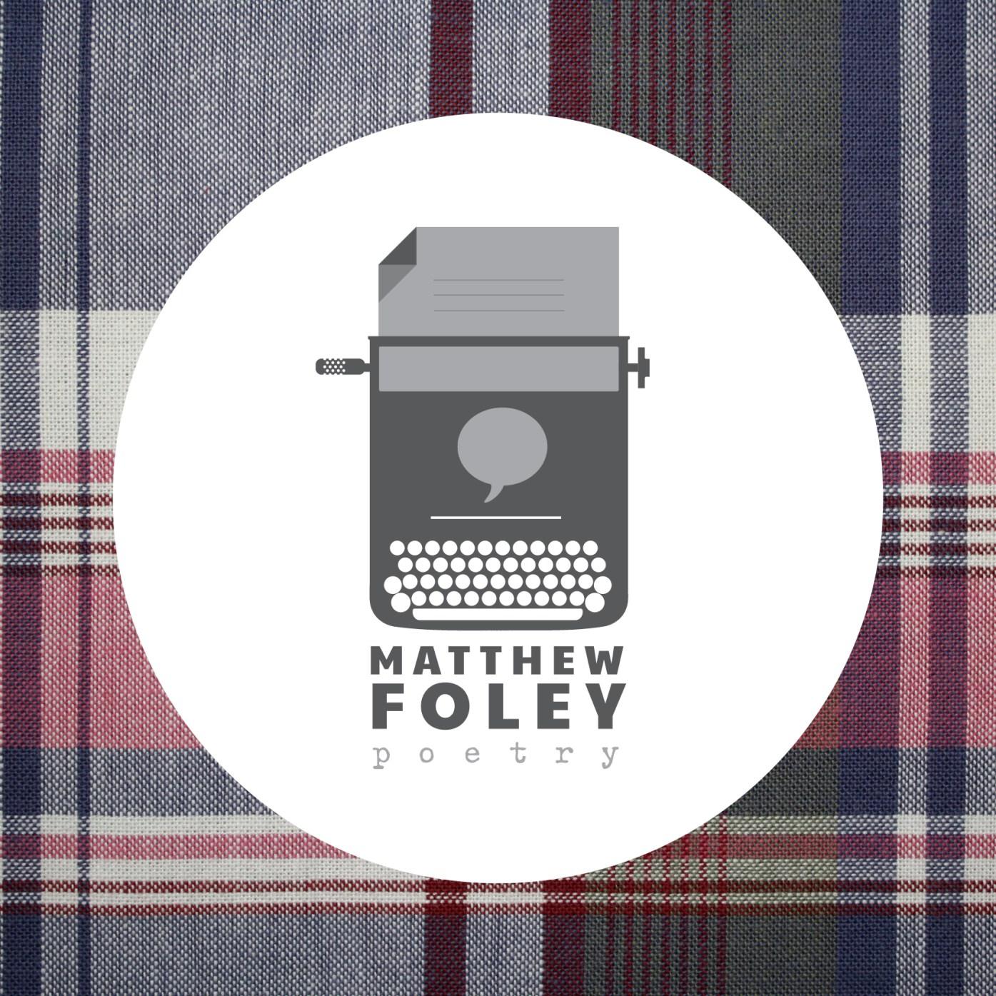 logo design for Charleston, SC poet Matthew Foley