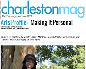 Arts Profile:Making It Personal Charleston Magazine, August, 2015