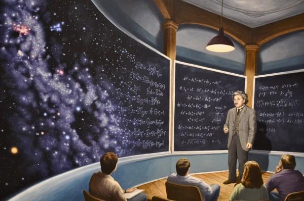 Chalkboard Universe Marcus Ashley