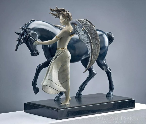 Dark Unicorn Michael Parkes Marcus Ashley