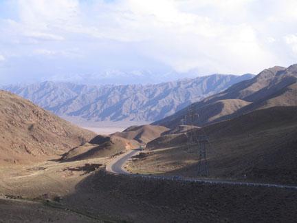 central Kyrgyzstan