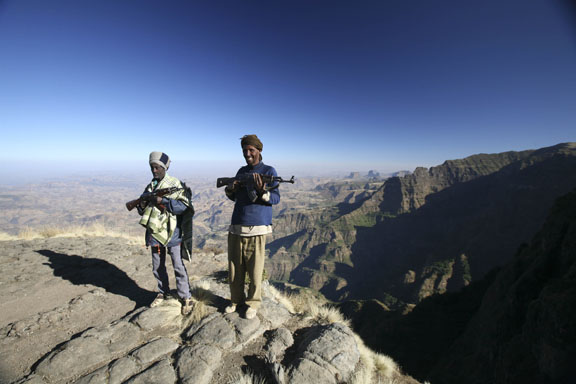scouts, Simien Mountains