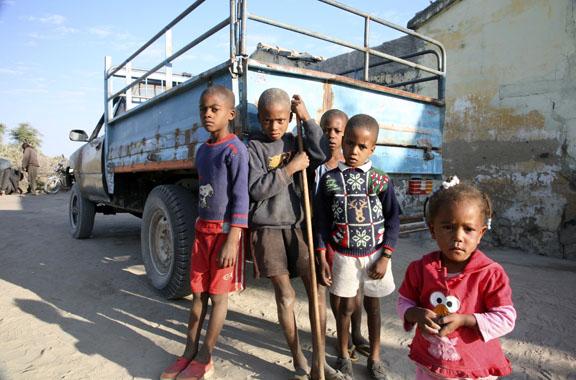 kids, southern Angola