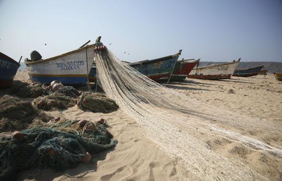 fishing boats, Angola