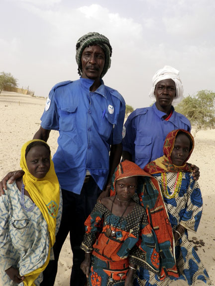 Chadian family
