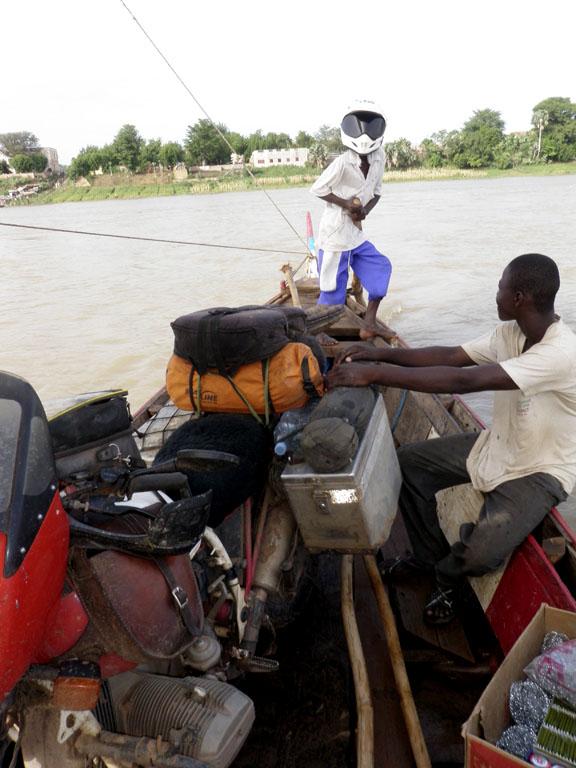 river crossing, western Mali