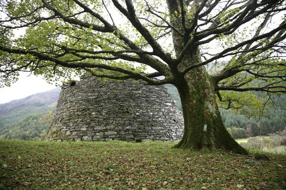 2,000 year old stone house, Scottish highlands