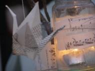 crane table centre tealight