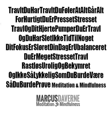 Meditations digt