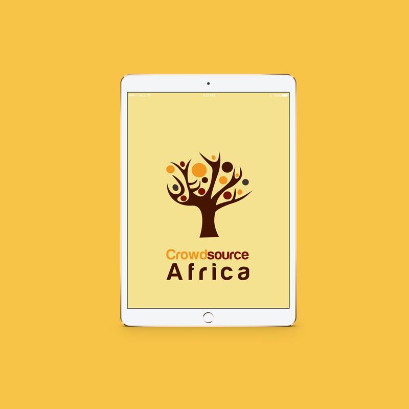 Crowdsource Africa Identity Design UX/UI