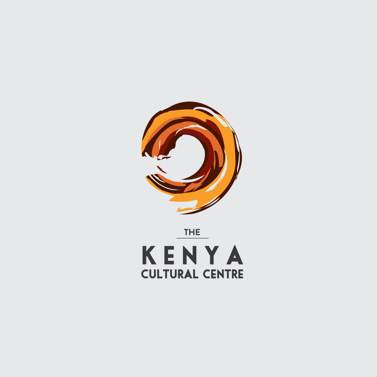 Kenya Cultural Centre Identity Design
