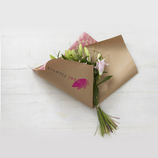 Imani Flowers Identity Design