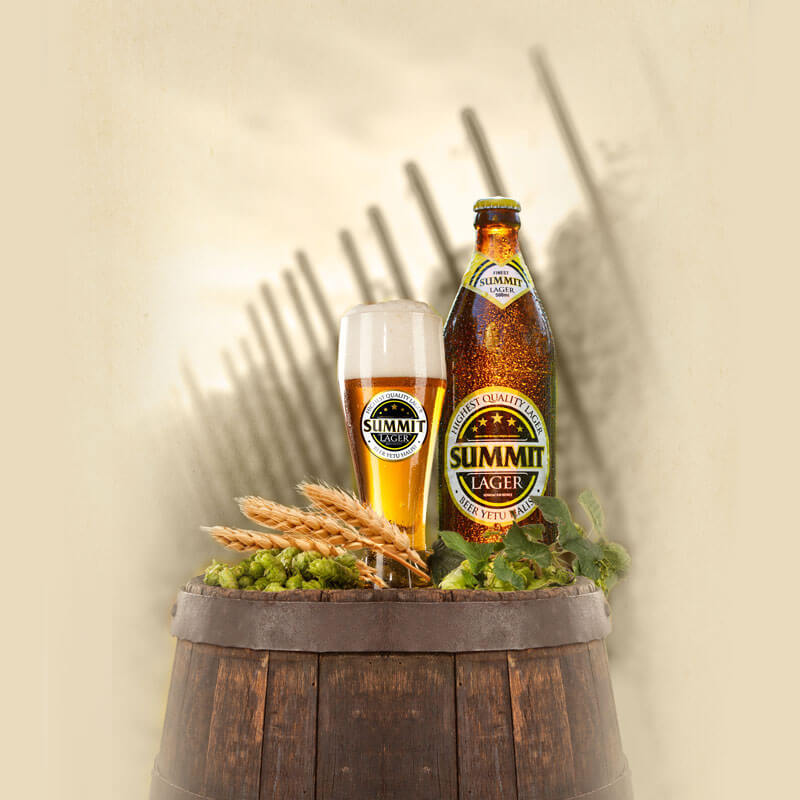 Summit Beer Branding