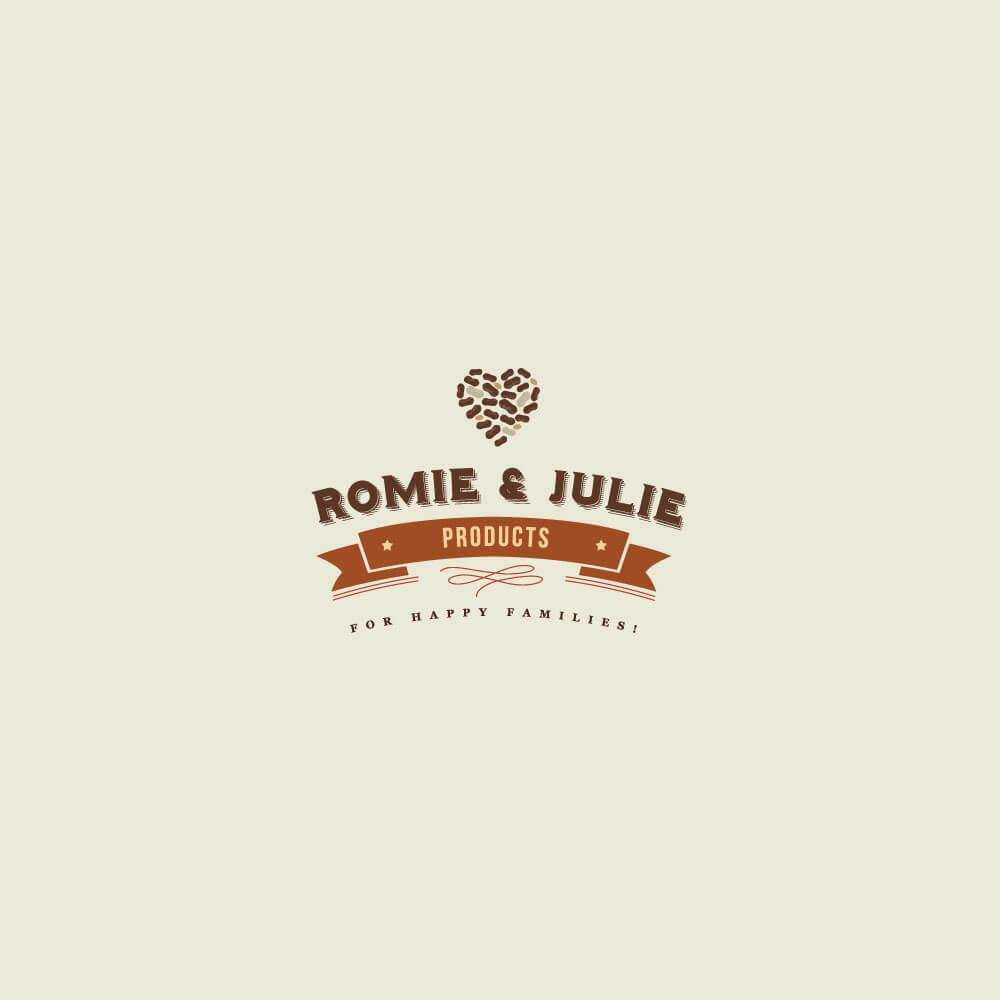 Romie & Julie Product Branding