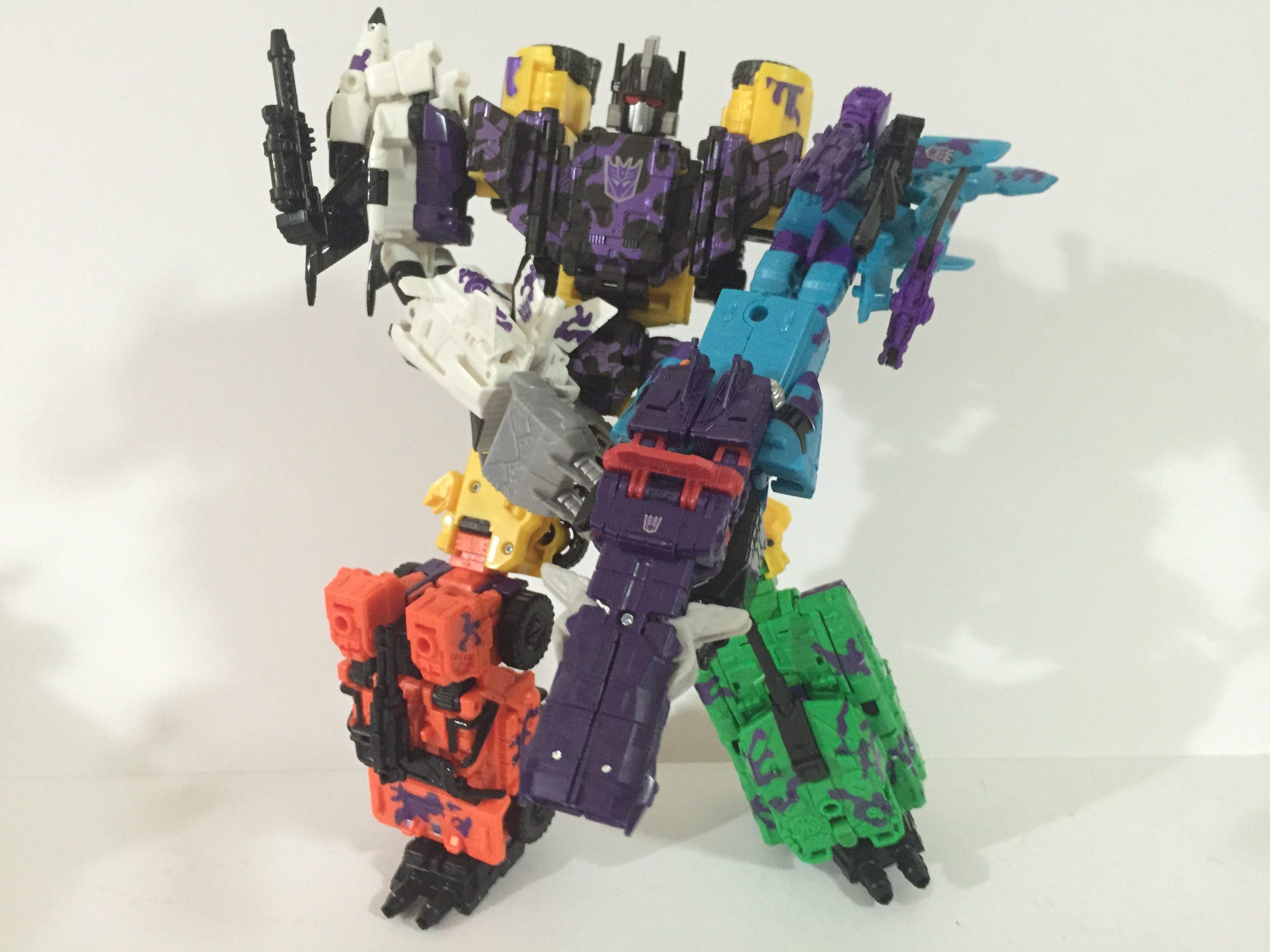 Transformers G2 Bruticus Looks Surprisingly Colour Co