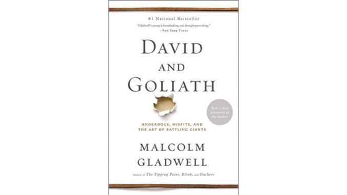 [Book Review] Just read the first 1/3 of 'David & Goliath