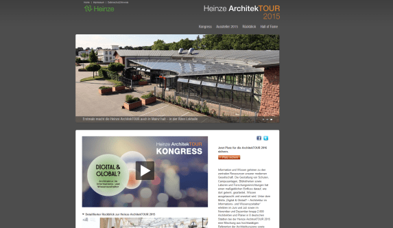 Heinze ArchitekTOUR 2015