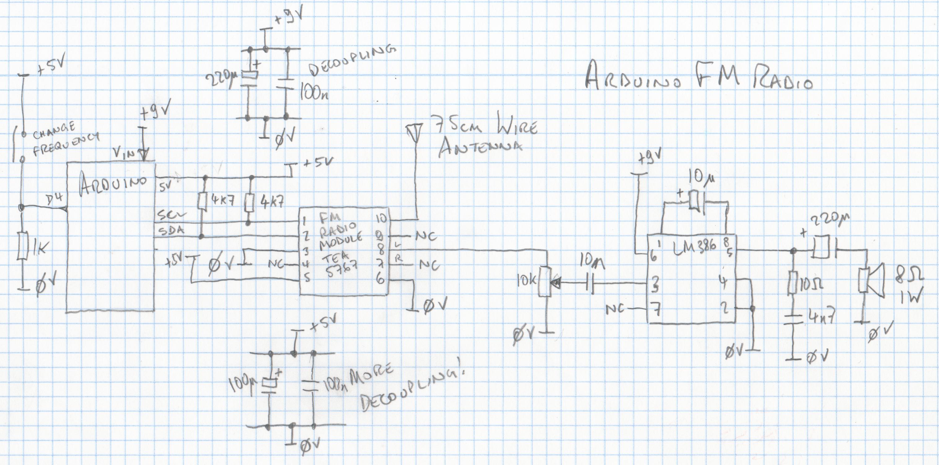 Arduino Fm Radio
