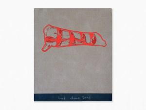 Marcus Kleinfeld, BEEF CHART, 2010 Oil on linen 110 x 100 cm
