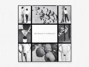 Marcus Kleinfeld, DER MENSCH IN UNSERER ZEIT, 2014 9 inkjet prints 119 x 126 cm