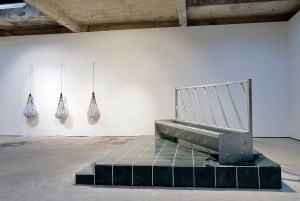 Marcus Kleinfeld, EMPIRE / NETS, 2010 Installation view