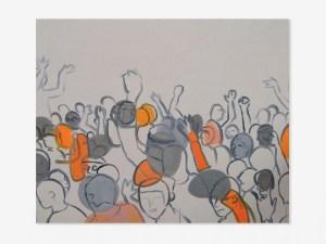 Marcus Kleinfeld, SOUND, 2006 Oil on canvas 80 x 120 cm